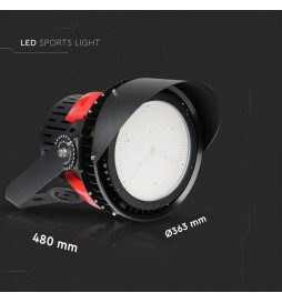 FARO LED 45° SPORT LIGHT 500W SMD DIMMERABILE HIGH BAY CHIP SAMSUNG VT-500D SKU: 490