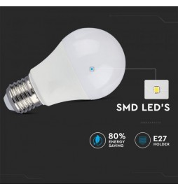 LAMPADINA LED E27 9W BULB A60 3 STEP DIMMERABILE - VT-2011 - SKU 4447 / 4448 / 4449
