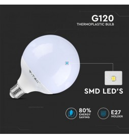 LED Bulb - 13W G120 Е27 2700K Dimmable VT-1884D SKU: 4254 / 7194 / 7195