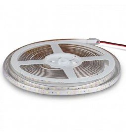STRISCIA LED 3528 IMPERMEABILE MONOCOLORE 60LED/METRO - BOBINA DA 5 METRI - VT-3528 WP - SKU 2032 / 2043 / 2031